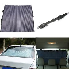 65cm Retractable Curtain Sunshade Block w/UV Protection Windshield For Car SUV