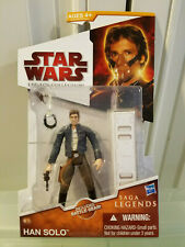 Star Wars Legacy Collection #16 Han Solo Asteroid Gas Mask (Hasbro 2009)(GS) NEW