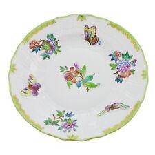 Antique Herend Queen Victoria Rim Soup Salad Bowl