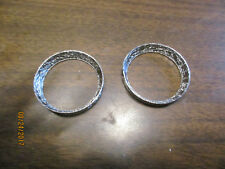 Exhaust Gasket For Harley 1984 and up , Tapered Style Pipe to Head, Sold in pair