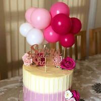1set 5 Inch Ballon Tortenfiguren Set Geburtstagsfeier Cake Topper DIY Party Deko