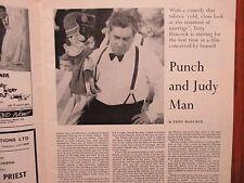 1962 Films and Filming Magazine(TONY  HANCOCK/CLAUDIA CARDINALE/DONALD PLEASENCE