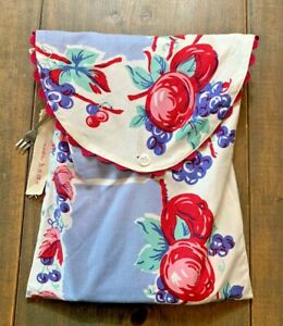 Moda Home Retro Multicolored Fruits Grapes Design Tablecloth 100% Cotton