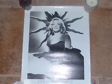 MARYLIN MONROE - SWEDISH VINTAGE POSTER FROM THE 80'S!!!!!!!!!!!!!!!!