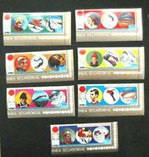 Equatorial Guinea-1972-Winter Olympics-Sapporo-Full set-MNH