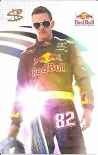 2009 SCOTT SPEED signed NASCAR RED BULL PHOTO CARD POSTCARD F1 rally cross wCOA
