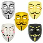 V for Vendetta Hacker Mask Halloween - Cosplay Costume Anonymous Guy Fawkes