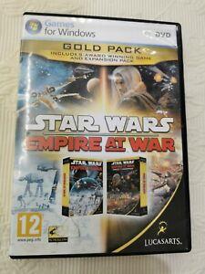 Star Wars Empire At War PC DVD - Rom Game Lucasarts - VGC disc