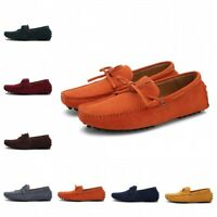 47/48/49 Men Bowknots Slip On Driving Moccasin Casual Penny Boat Shoes Loafers L