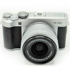 Fujifilm X-A5 24.2MP Mirrorless Camera w/ XC15-45mm F3.5-5.6 OIS Lens -Silver