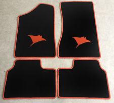 Autoteppich Fußmatten für Opel Manta B und CC  Rochen orange Neuware 4teilig