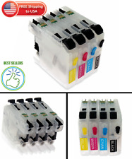 For Brother LC103 LC105 LC107 Refillable Ink Cartridge MFC- J4310DW J4410DW