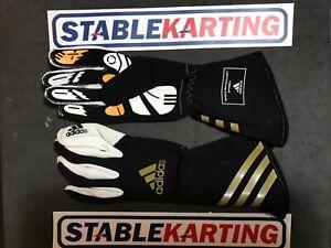 Go Kart - Adidas Glove Kart Black   Gold - Adidas Glove Kart XLT Black Gold XS