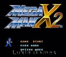 Mega Man X2 X 2 - Rare SNES Super Nintendo Game