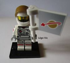 Légo 71011 Minifig Figurine Série 15 Astronaute Space + socle