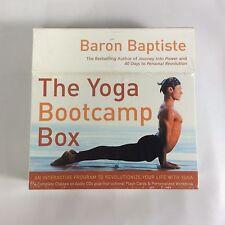 The Yoga Bootcamp Box Interactive Program to Revolutionize Your Life B Baptiste