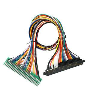 56 pin 100cm Jamma Wiring Harness harness for arcade game board JAMMA Cabinet