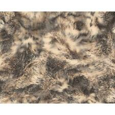 NEW AS CREATION ANIMAL FAUX FUR PATTERN WOLF TEXTURED NON WOVEN WALLPAPER 881717