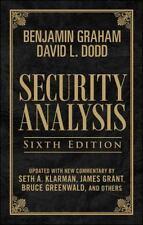 Security Analysis, Sixth Edition (Leatherbound Edition), , Klarman, Seth, Dodd,