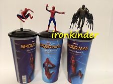 Spider-Man: Homecoming Movie Full set Cinema Movie Figure Topper + Cup