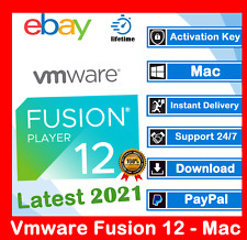 VMware Fusion Pro 12 🔑2021🔑Lifetime Activation 🔑 MacOS ✅ Unlimited PC✅