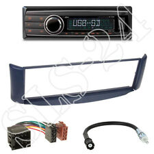 Caliber RMD212 Autoradio + Smart ForTwo (C450)  Blende blau + ISO Adapter