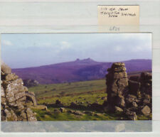 POSTCARD HAY TOR FROM HOUND TOR DARTMOOR DEVON 6P29