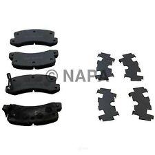 Disc Brake Pad Set-All Trac, Turbo Rear NAPA/ULTRA PREMIUM BRAKE PADS & SHOES-UP