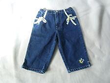 Baby Gap♦ Mädchenhose Jeans Jeanshose Gummizug Stickerei♦ 2 J.♦ Gr.86 - 92