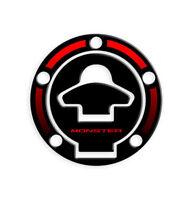 FUEL CAP PROTEZIONE TAPPO BENZINA DUCATI MONSTER GP-323(M) (Red)
