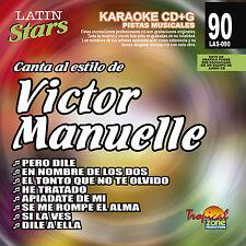 Karaoke Latin Stars 90 Victor Manuelle Vol. 1