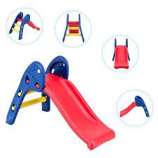 Children Kids My First Plastic Slide Climb Indoor Outdoor Toy Folding Storage
