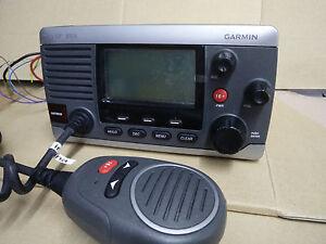 Garmin VHF 100i radio marine receiver (Only 100i radio and MIC ,No other parts)