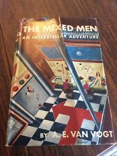 1st Ed THE MIXED MEN An Interstellar Adventure AE Van Vogt HCDJ Science Fiction