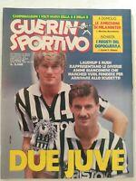 GUERIN SPORTIVO 32-1987 LAUDRUP IAN RUSH SCIFO GULLIT UDINESE BARLETTA PADOVA