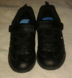 Boys Matalan light up black Spiderman School Shoes size 13
