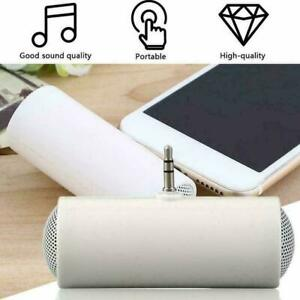 Mini Speaker Stereo 3.5mm Amplifier USB Portable Mobile Plastic Y0T6 Stereo R8A0