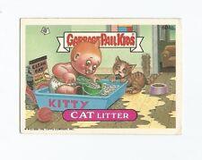Cat Litter 604b - Garbage Pail Kids GPK Original Series 15 Card 1988