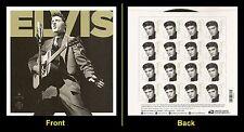 US 5009a Elvis Presley imperf NDC sheet MNH 2015