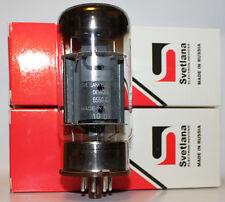 Matched Pair Svetlana 6550 6550C amp tubes, BRAND NEW