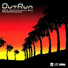 OutRun GAME Music SOUNDTRACK CD  Out Run 20th Anniversary Box