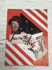 Two On The Isle - Souvenir Program. Burt Lahr, Dolores Gray. Shubert Boston.