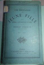 UNE EDUCATION DE JEUNE FILLE .UNE PREMIERE LECON  D' HISTOIRE DE FRANCE / HETZEL