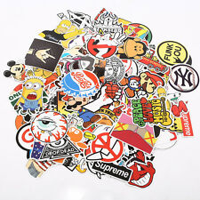 100Pcs Cartoon Funny Anime Stickers Decal For Car Bike Luggage Scooter