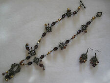 Vintage Victorian Necklace & Earring Set