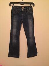 Antik Denim Girls Medium Wash Blue Jeans Size 7