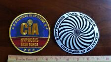 "2/CIA Hypnosis Task Force 4"" Patches"