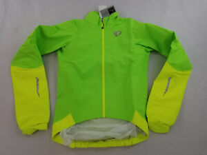 new Pearl Izumi men jacket scotchlite 11131511 Elite WXB neon XS MSRP $160