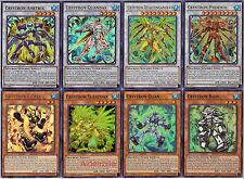 Yugioh Crystron Deck - Quandax Phoenix Citree Quariongandrax Ametrix Quan Rion