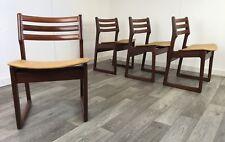 Rare Mid Century Teak 1960s Portwood Danish range Dining Chairs